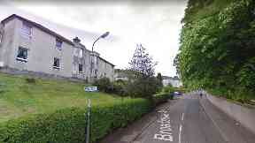 Broadstone Avenue: Gary McKenna accused of killing Terence McGeown in Port Glasgow.