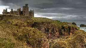 New Slain's Castle near Cruden Bay, Aberdeenshire