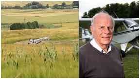 Stewart Russell, pilot crashed Lundin Links July 18 2017. No credit needed.