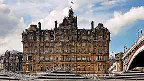 Balmoral Hotel: Undergoing £3m renovation.