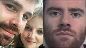 Milngavie: Cameron Logan and Bex Williams (left) were sleeping on an inflatable mattress.