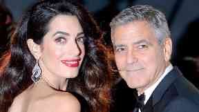 Clooney's wife Amal gave birth to twins in June.