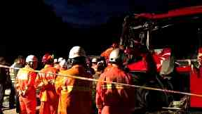 A coach crash in China has left at least 36 people dead