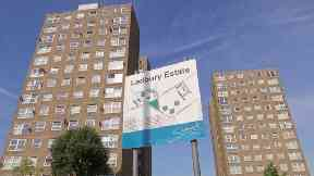 More than 200 flats in the Ledbury Estate in Peckham have had the gas turned off.