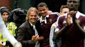 Robbie Neilson and Osman Sow