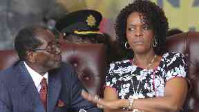 Grace Mugabe is accused of attacking a young woman with an extension cord.