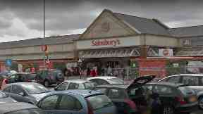 Sainsbury's: A night shift worker raised the alarm at the East Kilbride store.