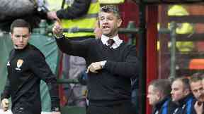 Stephen Robinson: The Motherwell boss has agreed a contract extension until 2020.