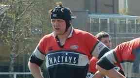 Steve Begley: He won league and cup double with team. Glasgow Hawks