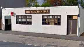 Whitburn: Break-in at Clachan bar.