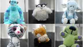Glasgow Airport teddy bears