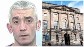 Robert Stratton, High Court Edinburgh. Police collect pic.