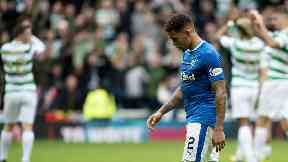 Rangers matched Celtic in the first half says Tavernier