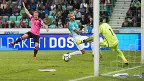 Griffiths goal slovenia