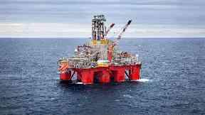 The Transocean Spitsbergen drilling rig