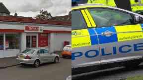 Ballindean Road: Man seriously injured. Spar Dundee