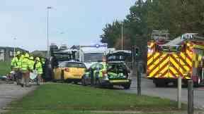 Berryden: Section of road closed. Aberdeen Berryden Road