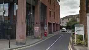 Midlothian House, HQ of Midlothian council.
