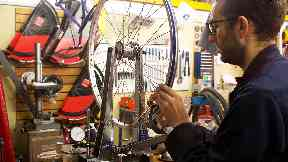 Common Wheel Maryhill bike workshop in Glasgow supports those with mental health issues