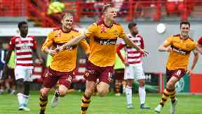 Derby: Motherwell came out on top.