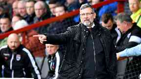 Satisfied: Levein said Hearts showed resilience.