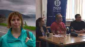 Missing: Karen Brown's daughter Jemma and husband Jock have appealed for her to come home.