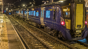 ScotRail electric train