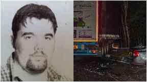 Norbert Palfi, killed in A9 crash October 18 2017.