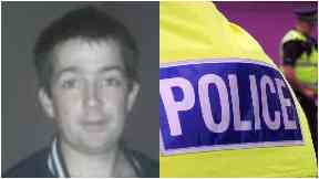 Missing man in East Lothian James Young, 30.
