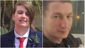 Shannan Rafferty (22) and Iain Clark (30)