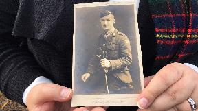 Robert Shankland First World War hero commemorated in Ayr.