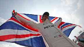 Lewis Hamilton said it felt unreal to become Formula One champion for a fourth time.