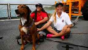 Tasha Fuiba (left) and Jennifer Appel (right) were lost at sea for five months.