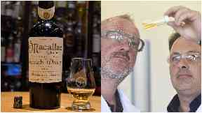 Fake bottle of Macallan 1878, exposed as fake by RW101.