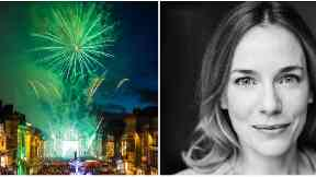 Actress Laura Main will switch on Edinburgh's Christmas lights in 2017.