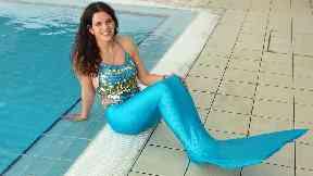 Lindsay Leeper, owner of Mermaids Scotland swimming school in Glasgow