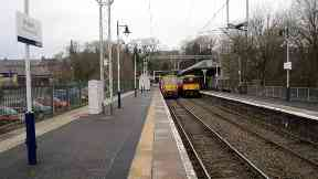 Milngavie railway station, East Dunbartonshire