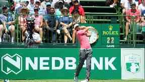 Scott Jamieson at the Nedbank Golf Nedbank Golf Challenge