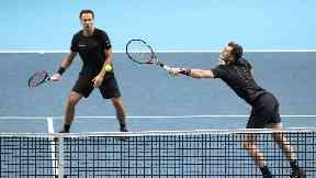 Jamie Murray and Bruno Soares v Bryans, O2, Nov 17