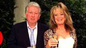 Sherrie Hewson and Keith Barron photographed together in 2000.