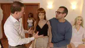 Angus Walker meets sex dolls ... with artificial intelligence.