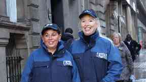 Street Pastors Margaret Reeves and Linda McKendrick