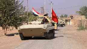 Iraqi soldiers have now fully liberated the last town held by IS.