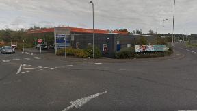 Sainsbury's petrol station, Tom Johnston Road, Dundee.