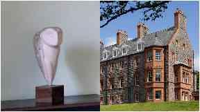 Owl statue stolen from Glencoe House Hotel