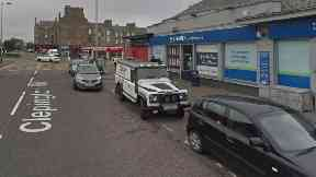 Scotmid on Clepington Road, Dundee, where a woman was knocked down.