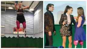 Inspiring Britain: Trampolining teenage quadruple amputee wins Pride of Sport Award
