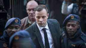 Oscar Pistorius.