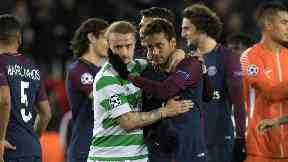 Leigh Griffiths and Neymar