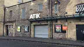 Atik nightclub in Tollcross, Edinburgh.